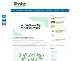 blog.naturalhealthyconcepts.com screenshot