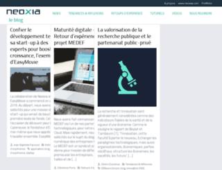 blog.neoxia.com screenshot