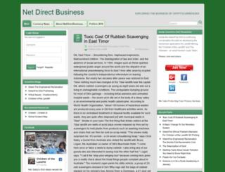 blog.netdirectbusiness.com screenshot