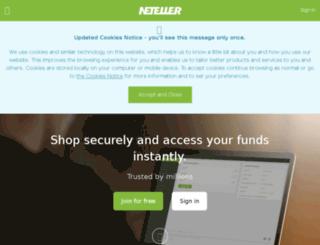 blog.neteller.com screenshot