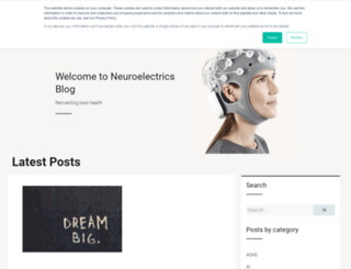 blog.neuroelectrics.com screenshot