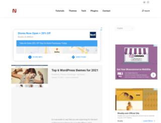 blog.neweb.co screenshot