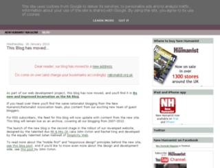blog.newhumanist.org.uk screenshot