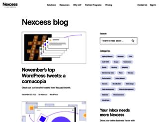 blog.nexcess.net screenshot