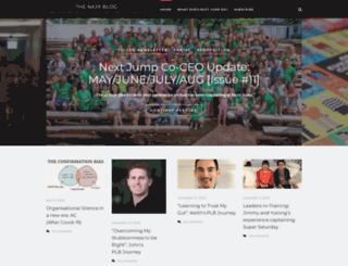 blog.nextjump.com screenshot