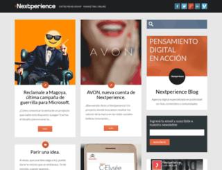 blog.nextperience.net screenshot