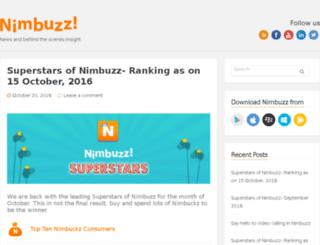 blog.nimbuzz.com screenshot
