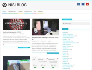 blog.nisi.ro screenshot