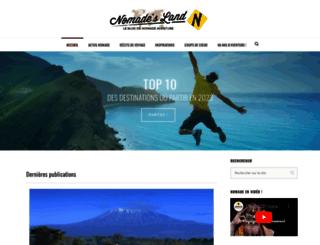 blog.nomade-aventure.com screenshot
