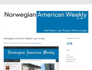 blog.norway.com screenshot
