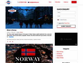 blog.norwayvisas.com screenshot
