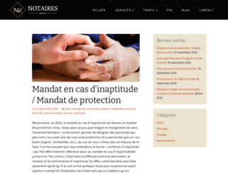 blog.notairemobile.ca screenshot