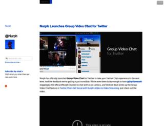 blog.nurph.com screenshot
