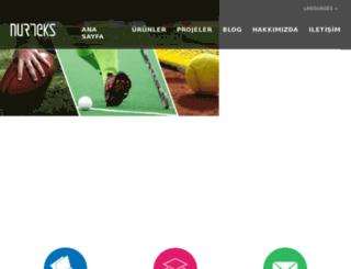 blog.nurteks.com.tr screenshot