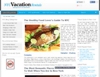 blog.nycvacationrentalsonline.com screenshot