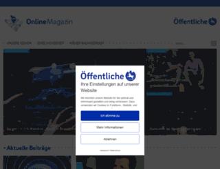 blog.oeffentliche.de screenshot