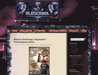 blog.oldschool-records.com screenshot