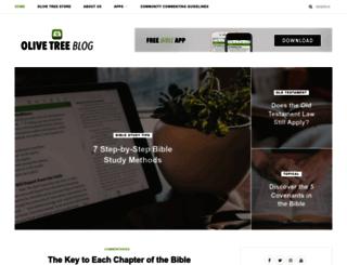 blog.olivetree.com screenshot