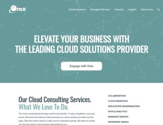 blog.onixnet.com screenshot
