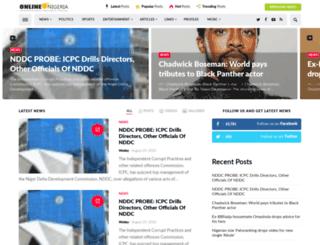 blog.onlinenigeria.com screenshot