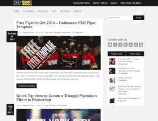 blog.onlypsds.com screenshot