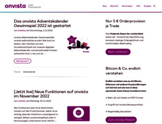 blog.onvista.de screenshot