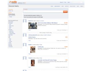 blog.oodle.com screenshot
