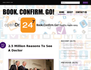 blog.opendoctors247.com screenshot