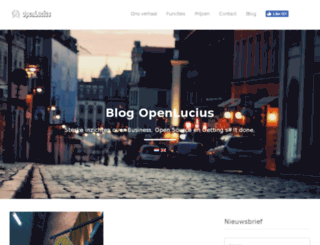 blog.openlucius.com screenshot