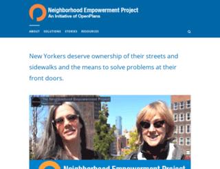 blog.openplans.org screenshot