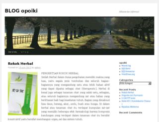 blog.opoiki.com screenshot