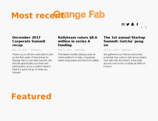 blog.orangefab.com screenshot