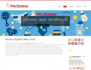 blog.organicbabywearhouse.com screenshot