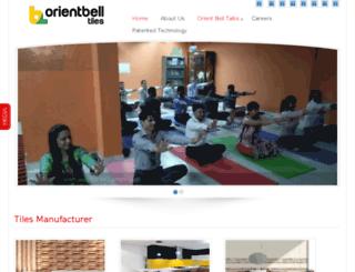 blog.orientbell.com screenshot