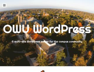 blog.owu.edu screenshot