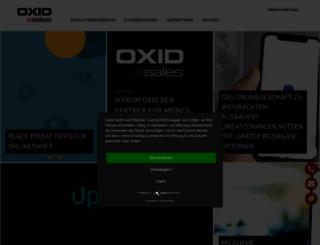 blog.oxid-esales.com screenshot