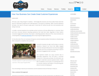 blog.pacificappdesign.com screenshot