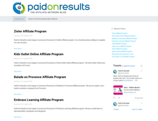 blog.paidonresults.com screenshot