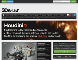 blog.paintermagazine.co.uk screenshot