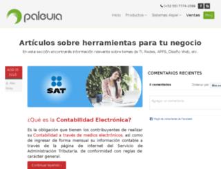 blog.paleuia.com.mx screenshot