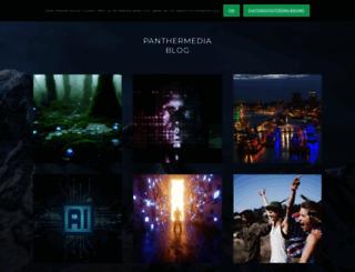 blog.panthermedia.net screenshot