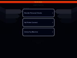 blog.papelcharol.es screenshot