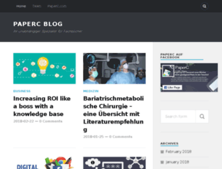blog.paperc.de screenshot