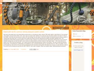 blog.paracordist.com screenshot