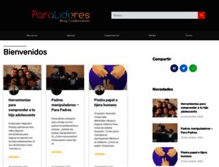 blog.paralideres.org screenshot