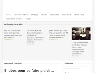 blog.parisselectbook.com screenshot