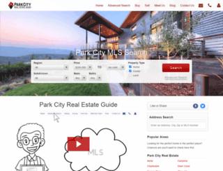 blog.parkcityrealestateguide.com screenshot