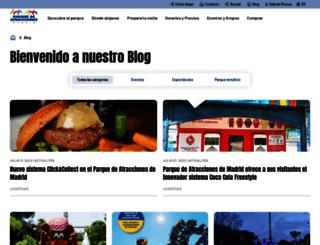 blog.parquedeatracciones.es screenshot