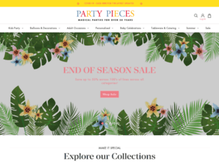 blog.partypieces.co.uk screenshot