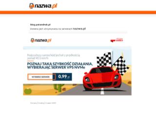 blog.patandrub.pl screenshot